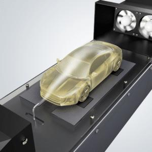 3D Druck Dienstleister - Windkanal Experiment